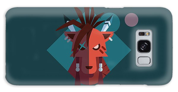 Red Xiii Galaxy Case by Michael Myers