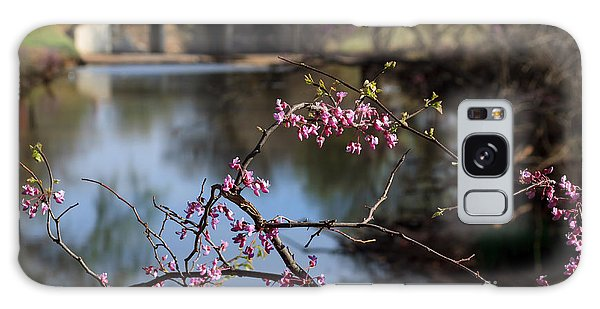 Redbuds And An Old Bridge Galaxy Case