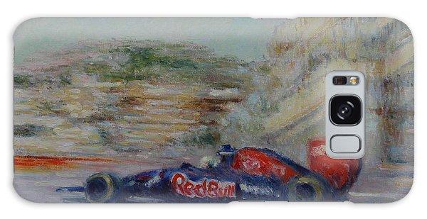 Redbull Racing Car Monaco  Galaxy Case