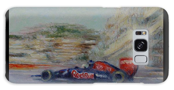 Redbull Racing Car Monaco  Galaxy Case