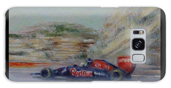 Redbull Racing Car Monaco  Galaxy Case by Pierre Van Dijk