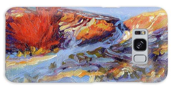 Impressionist Galaxy Case - Redbush by Steve Henderson