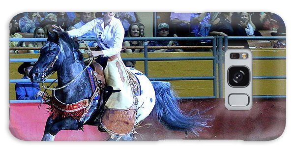 Galaxy Case featuring the photograph Rodeo Queen At The Grand National Rodeo by John King
