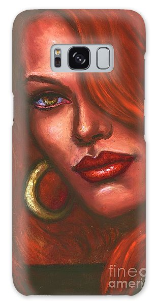 Redhead Galaxy Case