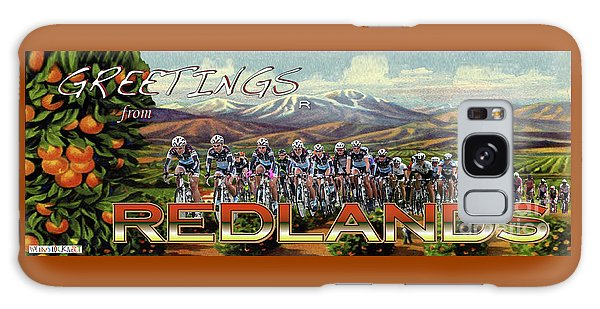 Redlands Greetings Galaxy Case