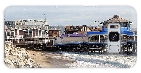 Redondo Beach Pier Shopping Galaxy Case