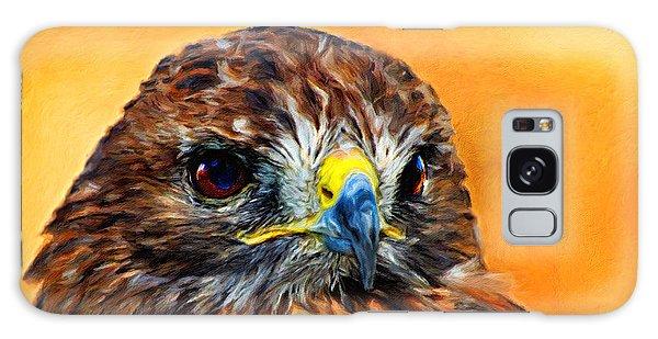 Redtailed Hawk Galaxy Case