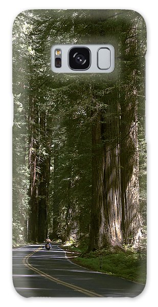 Redwood Highway Galaxy Case by Wes and Dotty Weber