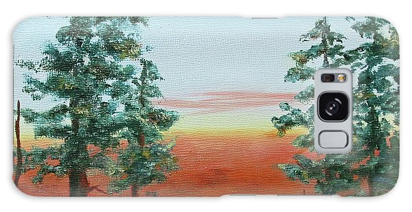 Redwood Overlook Galaxy Case by Roseann Gilmore