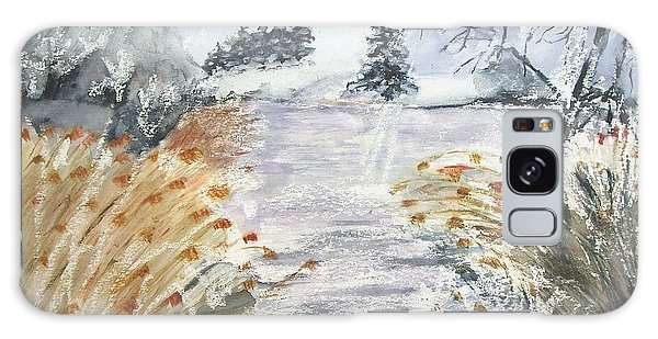 Reeds On The Riverbank No.2 Galaxy Case