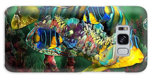 Reef Fish Fantasy Art Galaxy Case