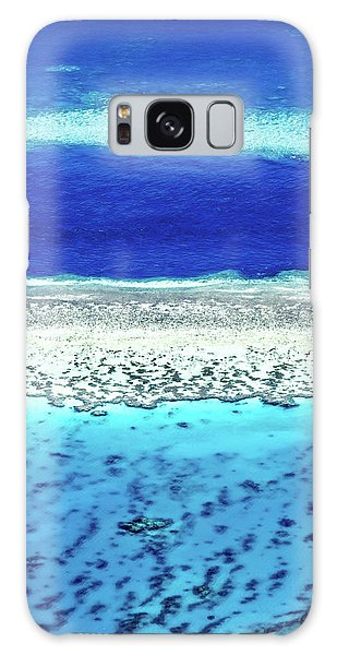 Helicopter Galaxy S8 Case - Reefs Edge by Az Jackson