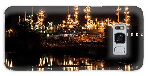 Refinery At Night 1 Galaxy Case