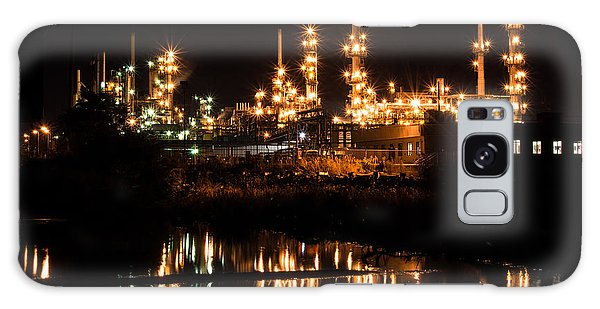 Refinery At Night 1 Galaxy Case