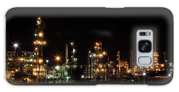 Refinery At Night 2 Galaxy Case