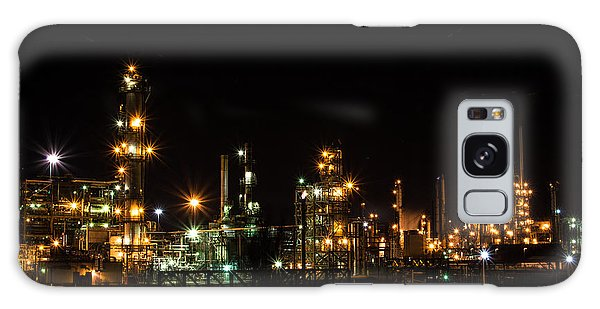 Refinery At Night 2 Galaxy Case