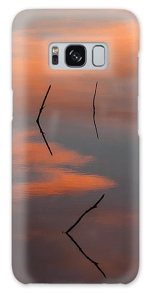 Reflected Sunrise Galaxy Case by Monte Stevens