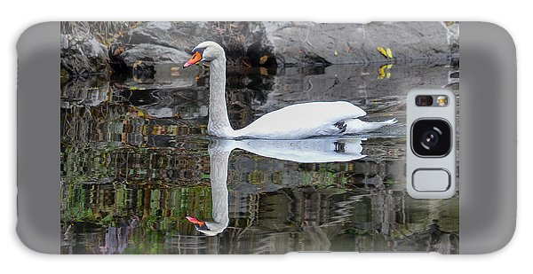 Reflecting Mute Swan Galaxy Case