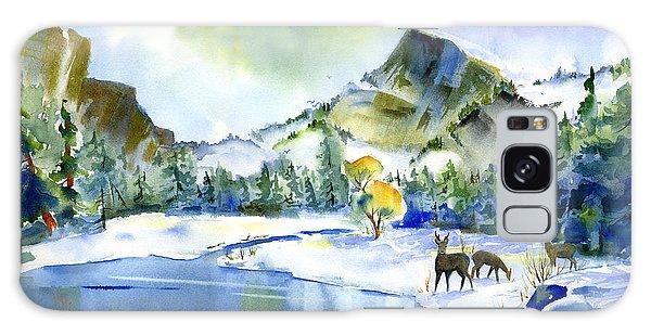 Reflecting Yosemite Galaxy Case