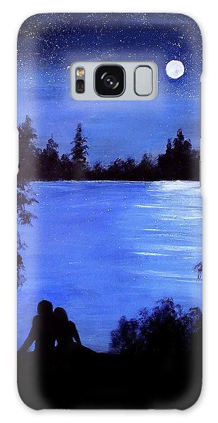 Reflection By The Water Galaxy Case