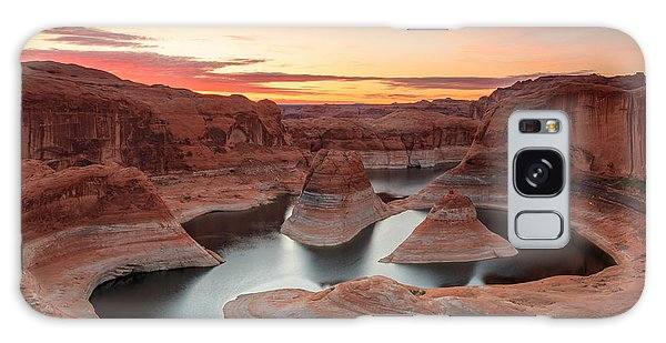 Southwest Usa Galaxy Case - Reflection Canyon by Johnny Adolphson