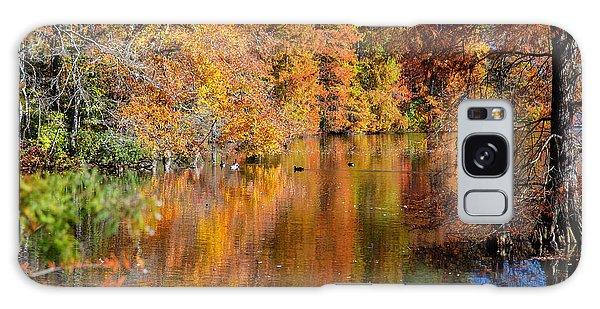 Reflected Fall Foliage Galaxy Case