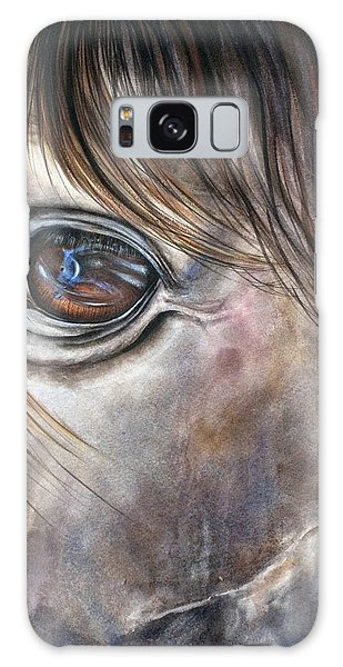 Reflection Of A Painted Pony Galaxy Case