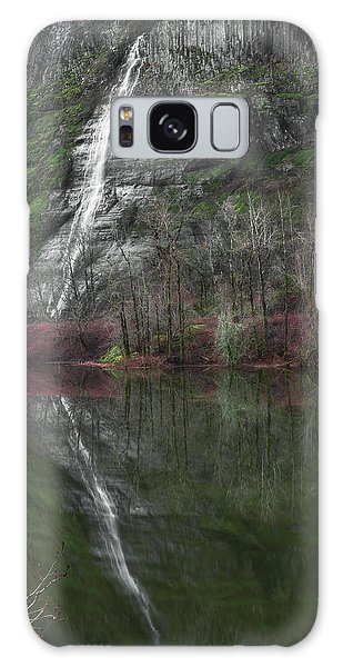 Reflection Of A Waterfall Galaxy Case
