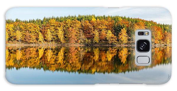 Reflection Of Autumn Galaxy Case