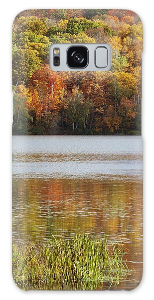 Reflection Of Autumn Colors In A Lake Galaxy Case
