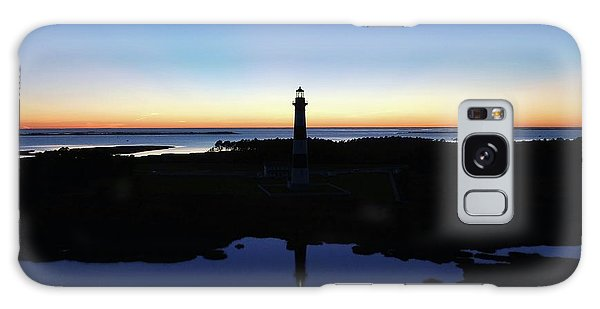 Reflection Of Bodie Light At Sunset Galaxy Case