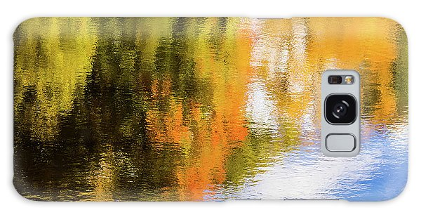 Reflection Of Fall #2, Abstract Galaxy Case