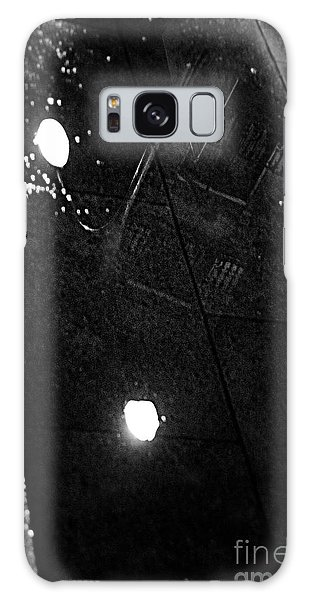 Reflection Of Wet Street Galaxy Case