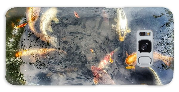 Reflections And Fish 3 Galaxy Case by Isabella F Abbie Shores FRSA