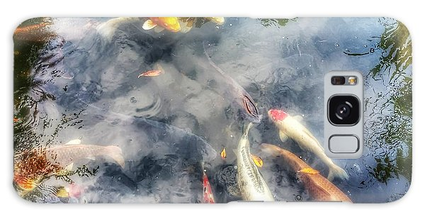 Reflections And Fish 4 Galaxy Case by Isabella F Abbie Shores FRSA