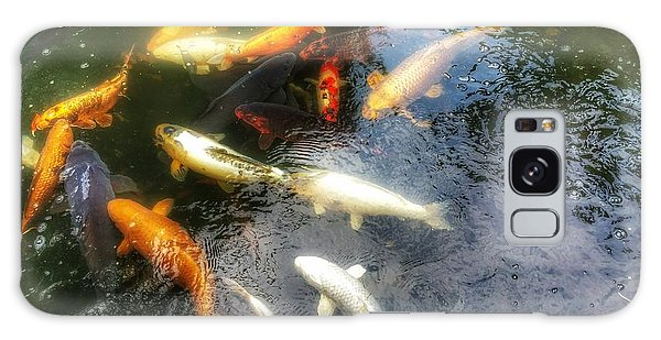 Reflections And Fish 5 Galaxy Case by Isabella F Abbie Shores FRSA