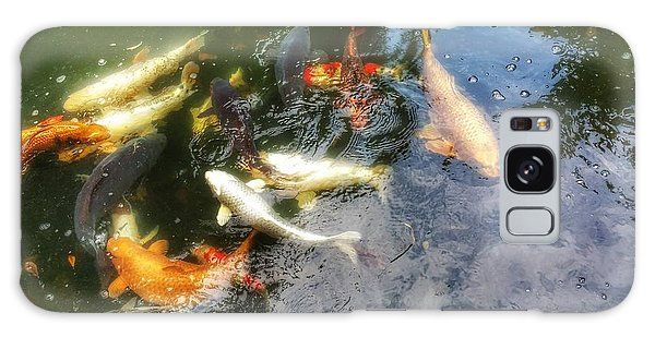 Reflections And Fish 6 Galaxy Case by Isabella F Abbie Shores FRSA