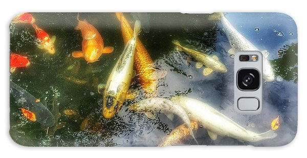 Reflections And Fish 7 Galaxy Case by Isabella F Abbie Shores FRSA