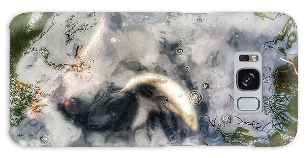 Reflections And Fish 8 Galaxy Case by Isabella F Abbie Shores FRSA