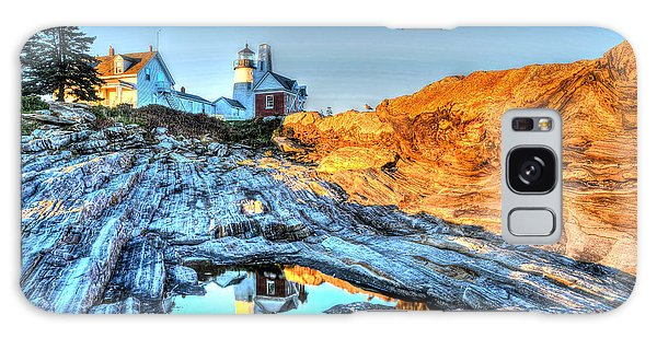 Reflections At Pemaquid Point Galaxy Case