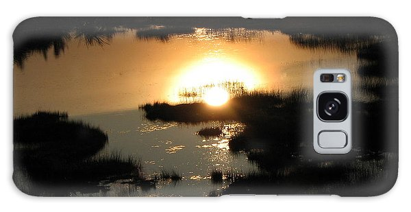 Reflections At Sunset Galaxy Case by Barbara Yearty