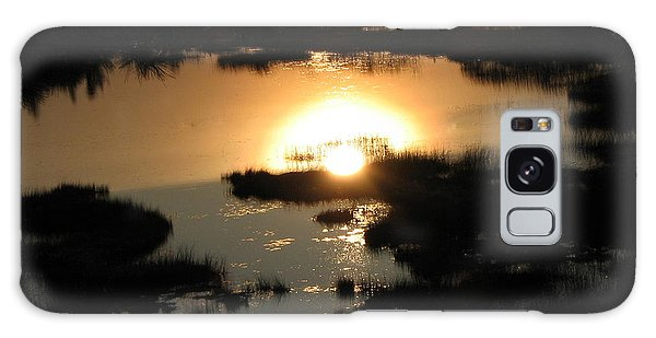 Reflections At Sunset Galaxy Case