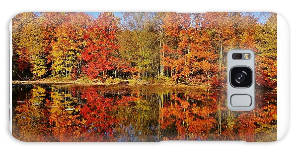 Reflections In Autumn Galaxy Case by Ed Sweeney