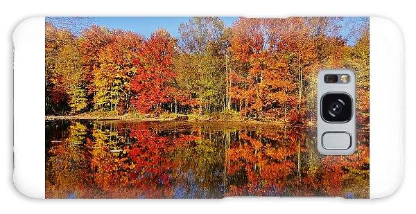 Reflections In Autumn Galaxy Case