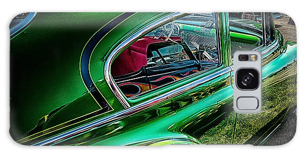 Reflections In Green Galaxy Case by Jay Stockhaus
