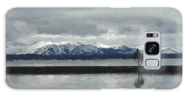 Reflections In Lake Yellowstone Galaxy Case