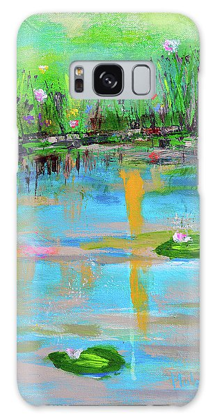 Reflections In Spring Galaxy Case