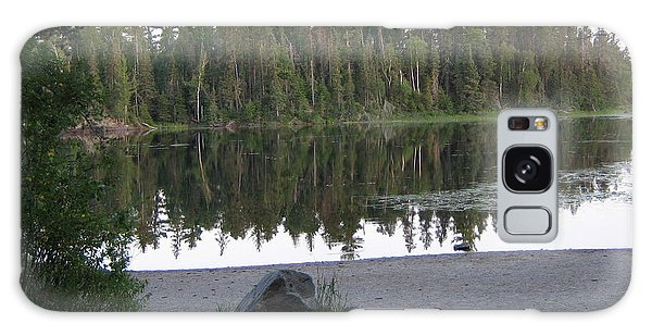 Reflections Lake 1 Galaxy Case by Barbara Yearty