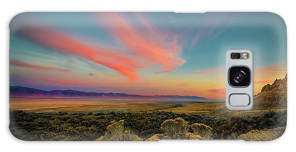 Reflections Of A Sunset Unseen Galaxy Case