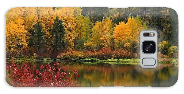 Reflections Of Fall Beauty Galaxy Case